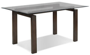 BRAND NEW In Box Glass Dining Table