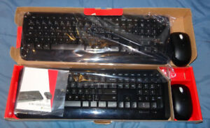 NEW WIRELESS KEYBOARDS, MICROSOFT, DYNEX