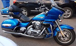 Kawasaki Voyager VN1700 2009 Blue/Noir