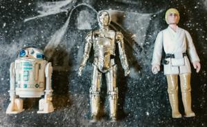 1977 Kenner Star Wars Action Figures.