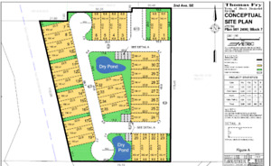 Multi- family site for sale 35 possible town homes ( or duplexes
