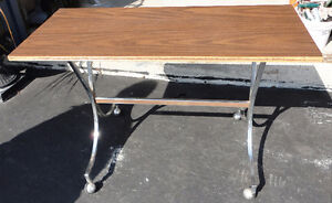 Wooden console table sofa table London Ontario image 5