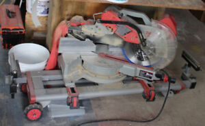 """Milwaukee 12"""" miter saw #6955-20 with stand"""