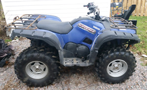 2012 Yamaha Grizzly 700 EPI for sale