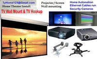 Home Entertainment Theater Design & Install