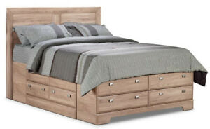 Great Deal Yorkdale Queen storage bed