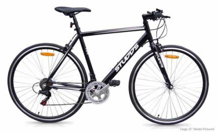 Studds Alloy Flat Bar Road Bike - Shimano 12 Speed City North Canberra Preview