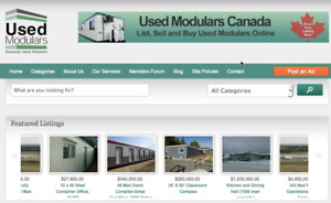 USED MODULARS FORT MAC- Buy and Sell Used Modulars Online