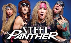 Wanted: Steel Panther Ticket