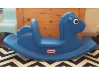 Little tikes blue see-saw like new