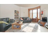 Double bedroom (couples welcome) in beautiful large shared 2-bed flat Lasswade