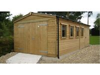 JOINER BUILT GARAGE SHED OUTHOUSE GARDEN ROOM GAZEBO PORCH DECKING FENCING CANOPIES GATES STAIRS