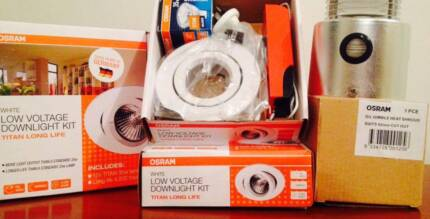 13xNEW IN BOX - OSRAM White L/V Downlight Kits + Heat Shrouds High Wycombe Kalamunda Area Preview