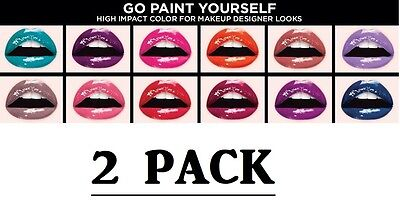 2 PACK Loreal Infallible Paints Lip Color - Pick a Color TRA - 2 Pack Paints