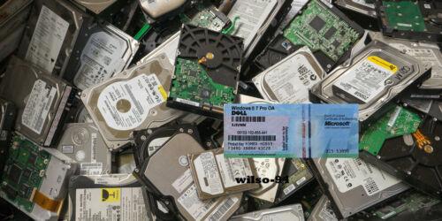 Original Windows 7 Pro COA 32/64 bit Sticker Activation Key w/ Hard D RAM