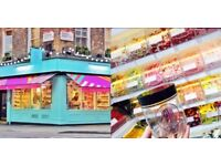 Sales Assistant Sweet Shop Covent Garden - SugarSin