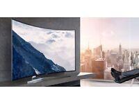"Samsung UE55KS9000T Curved 55"" Smart 4k SUHD HDR Quantum Dot LED TV"