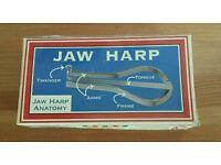New Jaw Harp In Box