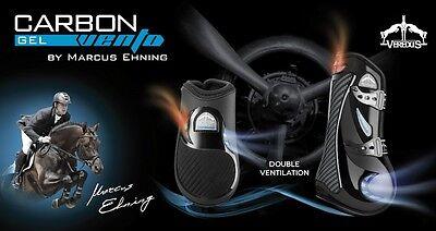 Veredus Carbon Gel VENTO Professional Tendon / Fetlock Airflow Showjumping Boots