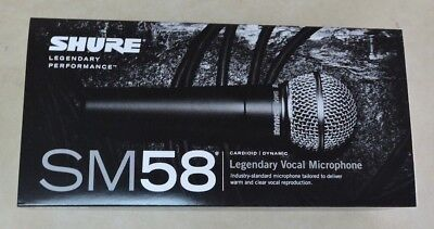 Shure SM58-S Vocal Microphone w/ On/Off Switch