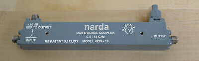 Narda 4226-10 Directional Coupler 0.5 To 18ghz 10db Qty Available Guaranteed