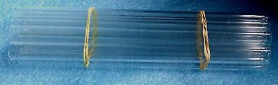 9mm Pyrex Borosilicate Glass Tubes For Glassblowing - 9mm X 6 -10 Pcs.