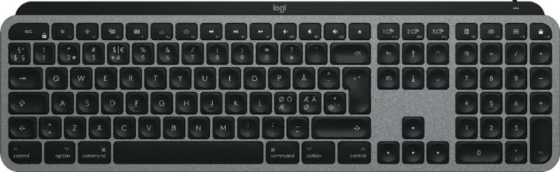 Logitech MX Keys for Mac 920-009552 Keyboard with Smart Illumination-Space Gray
