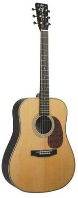 Recording King RD-127 Solid Spruce & Rosewood Dreadnought Acoustic Guitar - NOS
