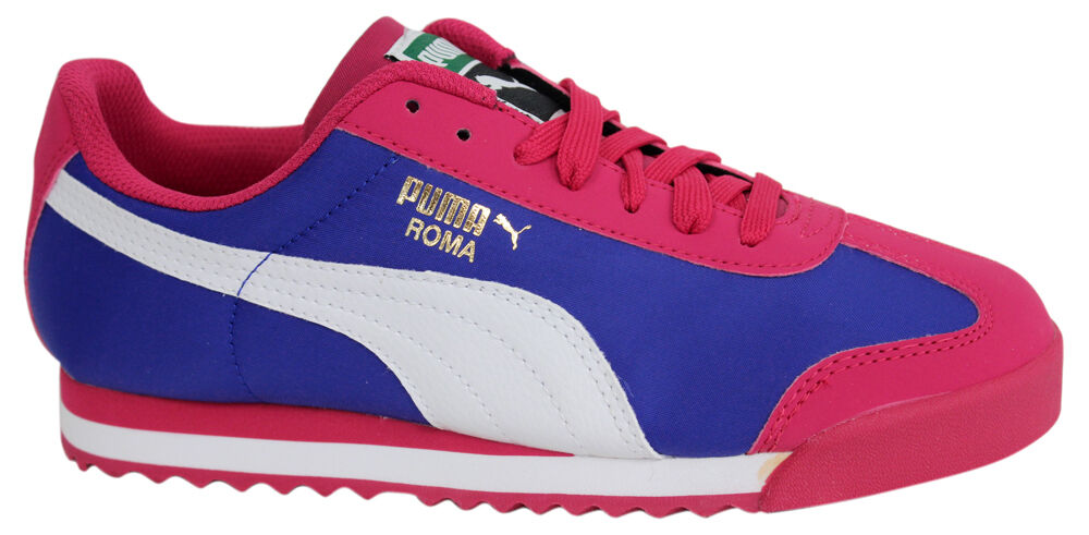 359640-02 Puma Roma Digital Toddler Lace Up Sneaker High Risk Red White