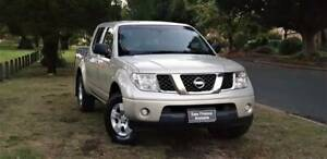 2010 NISSAN NAVARA ST-X 2.5TD 5SP MANNUAL Welshpool Canning Area Preview