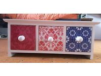 Cute Moroccan style mini tiled drawers