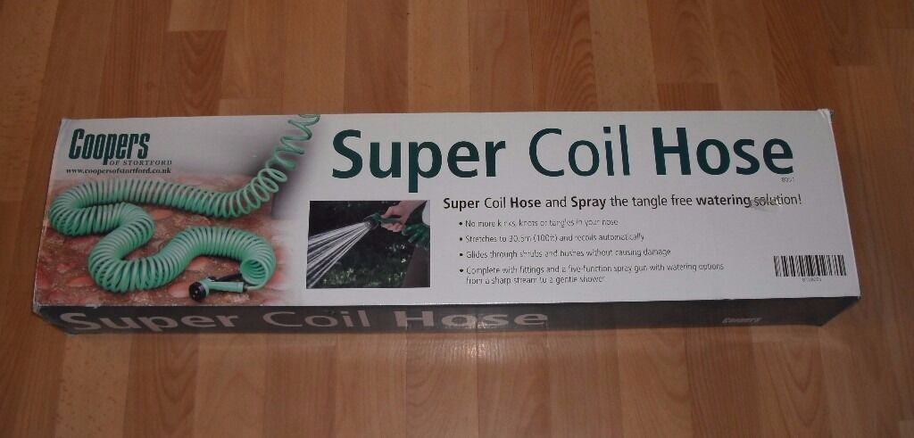 SUPER COIL HOSE - Up to 100ft