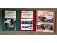 MODEL RAILWAY MODELLING THREE BOOKS JOBLOT CAN POST