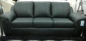 TORONTO CANADIAN MADE GENUINE LEATHER SOFA / LOVESEAT / CHAIR SALE (AD 261)