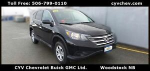2012 Honda CR-V LX AWD - Heated Seats - $77/Week