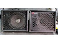 FOLDBACK WEDGE MONITOR SPEAKERS KINETICS 8 Ohms 100w 2 Available Price for one