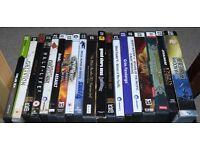 Great PC games, inc. SWAT 4, Half Life 2, Grim Fandango, Deus Ex, Company of Heroes, Doom 3...