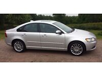 2008 Volvo S40-SE LUX 2.0ltr T/Diesel 4-Door Saloon Poss P/X. F.S.H/Electric Pack/Air Con/Sunroof