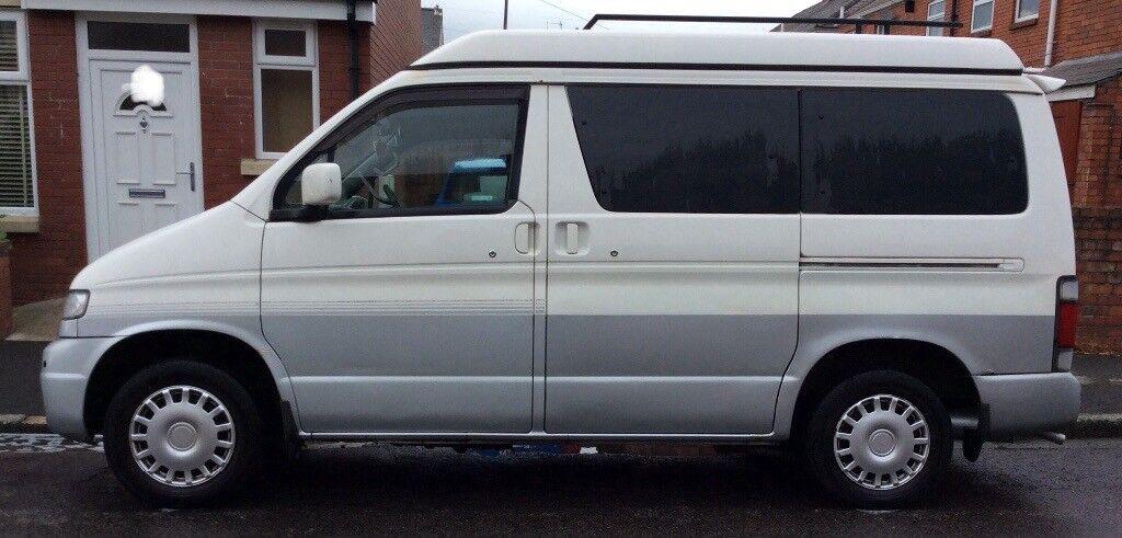 MAZDA BONGO/ FORD FREDA 1998 CAMPERVAN 2.5 AUTO FREETOP low mileage | in Llandaff, Cardiff | Gumtree