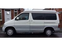 MAZDA BONGO/ FORD FREDA 1998 CAMPERVAN 2.5 AUTO FREETOP low mileage