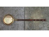 LONG BRASS WARMING PAN