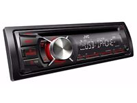 Car MP3/iPhone/Android/USB CD player. JVC KD-R541. Good condition, barely used. £50 ono