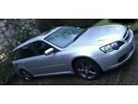 Subaru legacy 4x4 estate 2006 2.5 petrol