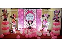 FUNTASTIC BIRTHDAYS EDINBURGH -Kids Birthday party and special occasion Decorators