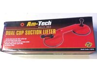 Suction lifter for windows etc
