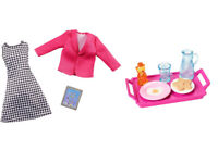 Brand New in box Barbie Doll Fashionistas Doll Clothes Career & Barbie Accessories Breakfast Set