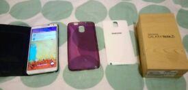 Samsung galaxy note 3 UNLOCKED MINT