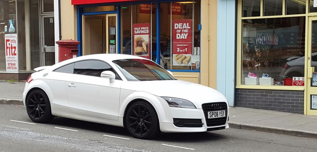 2008 Audi Tt 2 0tfsi Ibis White Coupe Manual Px Bmw