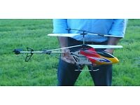 """LARGE REMOTE CONTROL RC HELICOPTER BR6098T - 80CM 31"""" - 3.5 CHANNELS GYRO, TOP QUALITY, EASY TO FLY"""