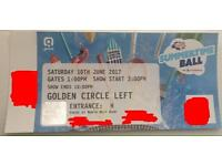 Capital summertime ball | GOLDEN CIRCLE TICKET (negotiable price)